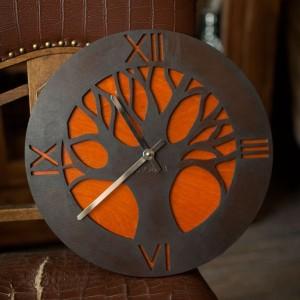 BAOBAB: настенные часы из дерева African Tree