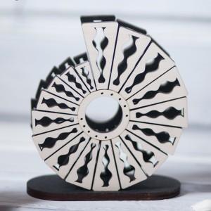 BAOBAB: салфетница из дерева Ракушка