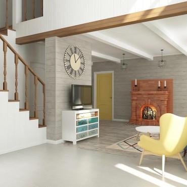 BAOBAB: дизайн интерьера загородного дома