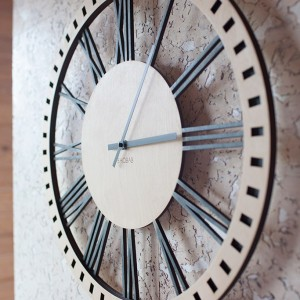 BAOBAB: wall of wood clock Classic