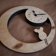 BAOBAB: настенные часы из дерева Eco Mouse
