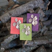 BAOBAB: author card wooden birthday