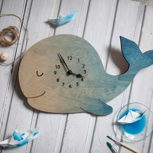BAOBAB: настенные часы из дерева Кит