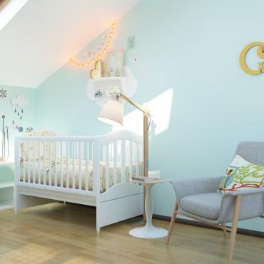 BAOBAB: дизайн интерьера детской комнаты