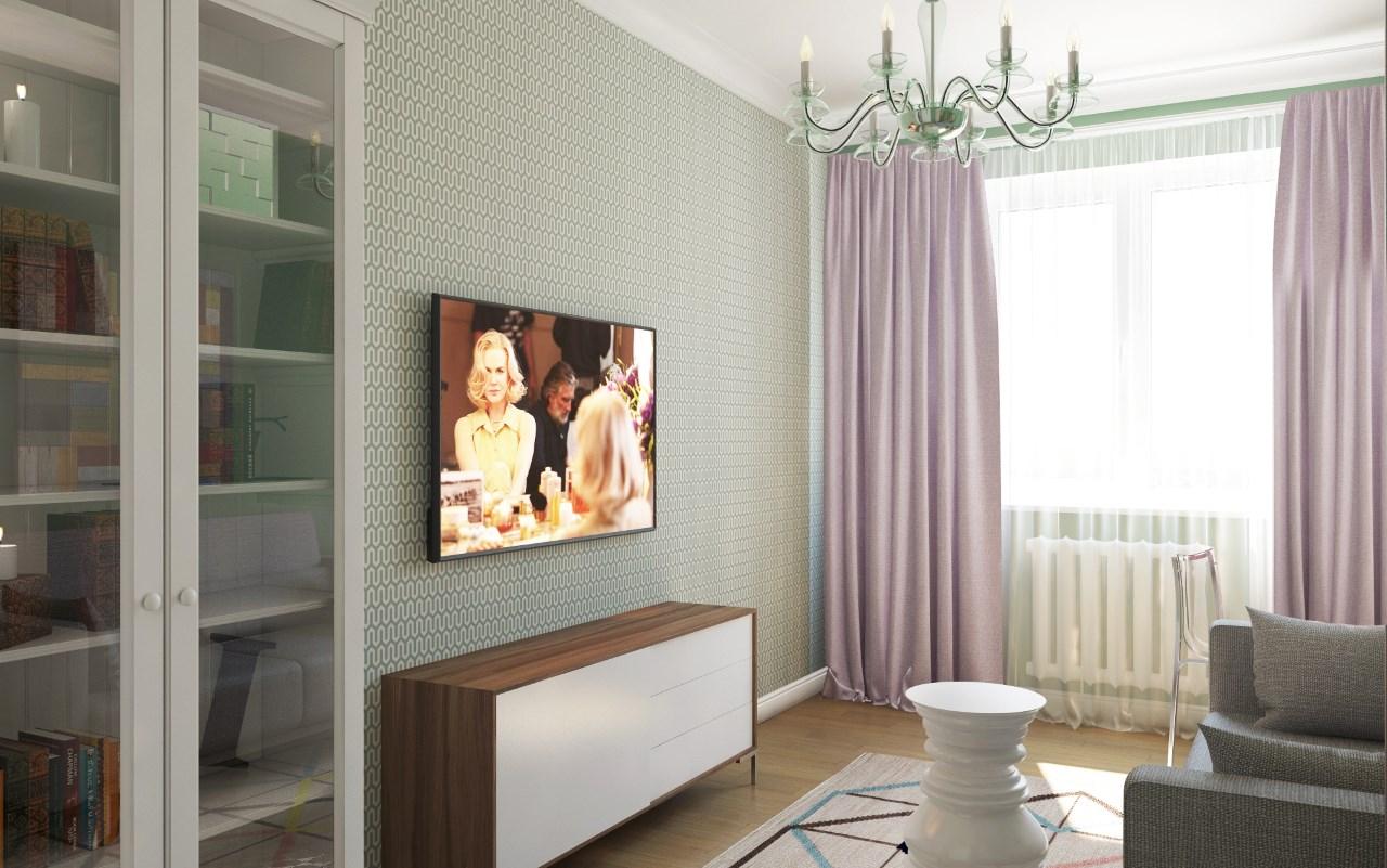 BAOBAB: дизайн интерьера гостиной