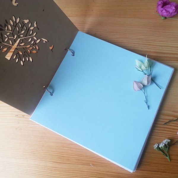 BAOBAB: Wedding Book wish wood