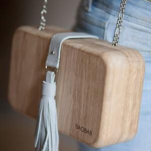 BAOBAB: женская сумка из дерева