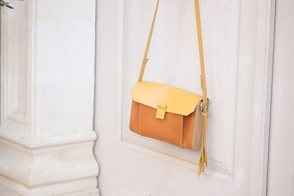 "Women's Handbag made of wood ""Oasis"""