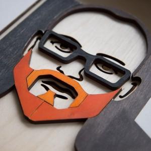 BAOBAB: портрет из дерева
