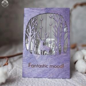 BAOBAB: деревянные открытки с Новым Годом