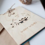 BAOBAB: wooden cards with warm wishes