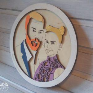 BAOBAB: семейный портрет из дерева